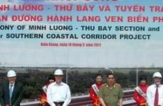 Mise en chantier du couloir littoral du Sud