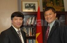 Soutien de la communauté des Vietnamiens aux Etats-Unis
