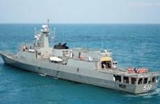 Un navire de la Marine royale thaïlandaise à Hai Phong