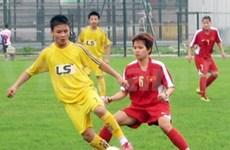 Football féminin : le Vietnam au 2e tour des éliminatoires des JO 2012