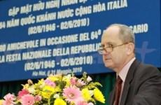 Célébration de la 65e Fête nationale d'Italie