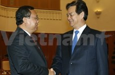 Vietnam-Laos: coopération entre les bureaux gouvernementaux