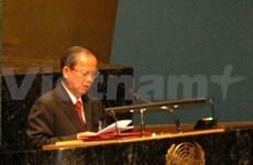 Sommet sur le VIH/SIDA: le Vietnam avance trois propositions