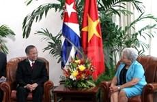 Le vice-PM Truong Vinh Trong à Cuba