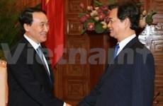 Nguyen Tan Dung reçoit le nouvel ambassadeur de R. de Corée