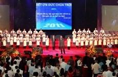 L'Eglise protestante célèbre le centenaire de sa présence au Vietnam