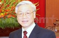 Nguyen Phu Trong part pour le Laos