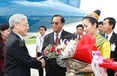 Le secrétaire général du PCV en visite à Savannakhet