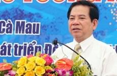 Nguyen Minh Triet en visite de travail à Ca Mau
