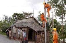 Electricité pour les Khmers à Soc Trang et Tra Vinh