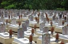 Des ouvrages à la mémoire des morts pour la Patrie à Quang Tri