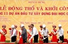 L'Université nationale de Hanoi en chantier à Hoa Lac