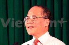 Nguyen Sinh Hung, candidat au poste de président de l'AN