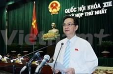 L'organisation et le personnel du gouvernement présentés à l'AN