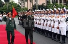 Le commandant des forces armées royales thaïlandaises au Vietnam