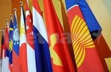 Les pays membres hissent le drapeau de l'ASEAN