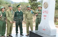Quang Nam-Sékong : accélération de la construction des bornes frontalières