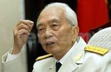 Voeux de longévité au général Vo Nguyen Giap
