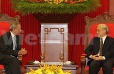 Nguyen Phu Trong reçoit un envoyé spécial de Cuba
