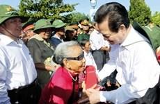 Le Premier ministre en tournée à Quang Tri