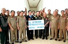 Des vétérans vietnamiens en visite au Laos