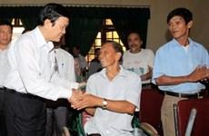 Le président de la République en tournée à Nghe An
