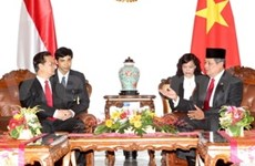 Vietnam et Indonésie s'orientent vers un partenariat stratégique