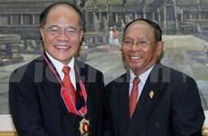 Activités du président de l'AN au Cambodge