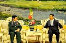 Xi Jinping reçoit une délégation de l'Armée vietnamienne