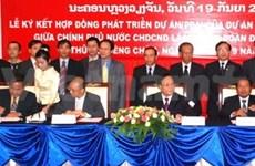 Vietnam-Laos : signature d'un contrat hydroélectrique