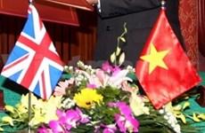 Coopération intensifiée entre le Vietnam et la Grande-Bretagne