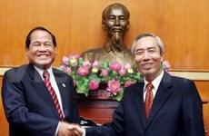 Vietnam-Cambodge : coopération entre les deux Fronts de la Patrie