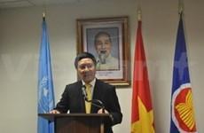 Inauguration d'un consulat du Vietnam à New York