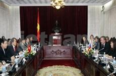 Vietnam et R. tchèque renforcent leur coopération législative