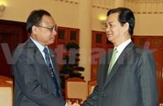 Vietnam-Thaïlande : entretien entre les deux présidents de l'AN