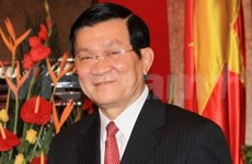 Truong Tan Sang débute sa visite d'Etat en Inde et au Sri Lanka