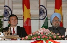 Entretien entre le président du Vietnam et le PM indien