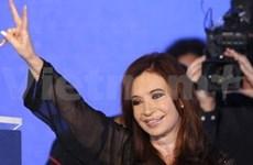 Félicitations à la présidente de l'Argentine