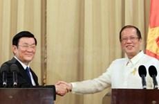 Communiqué conjoint Vietnam-Philippines