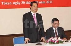 Activités du PM Nguyen Tan Dung au Japon