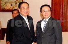 VN-Laos: renforcement des relations entre les deux Partis