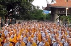 Célébration de la fondation de l'Eglise bouddhique