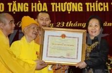 Décès du vénérable Thich Thanh Tu