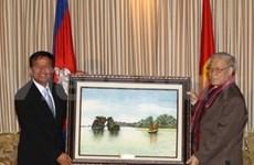 Nguyen Phu Trong visite la province de Siem Reap