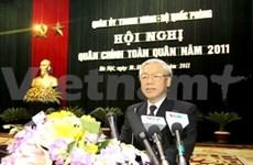 Maintien de la paix et de la stabilité pour le développement national