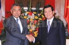 Le chef de l'Etat reçoit le président du Sénat thaïlandais