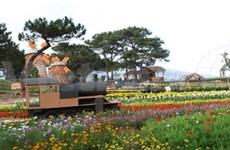 Exposition florale et de plante d'agrément de Da Lat 2012
