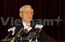 Nguyen Phu Trong exhorte à un changement radical dans l'organisation du Parti
