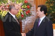Le Premier ministre reçoit l'ambassadeur suisse