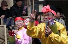 """Ouverture de la fête """"Bai choi"""" à Hanoi"""